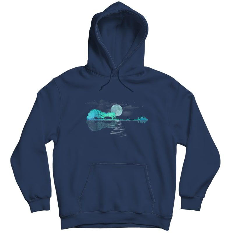 Acoustic Guitar Player T Shirt, Birthday, Christmas Gift Unisex Pullover Hoodie