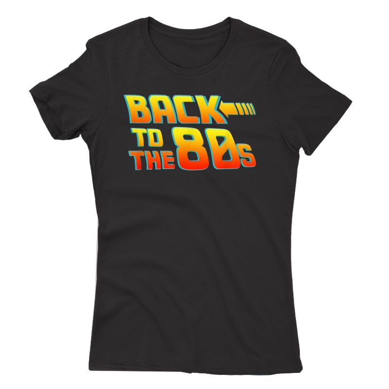 Back To The 80s - Costume Fancy Dress Party Idea / Halloween T-shirt
