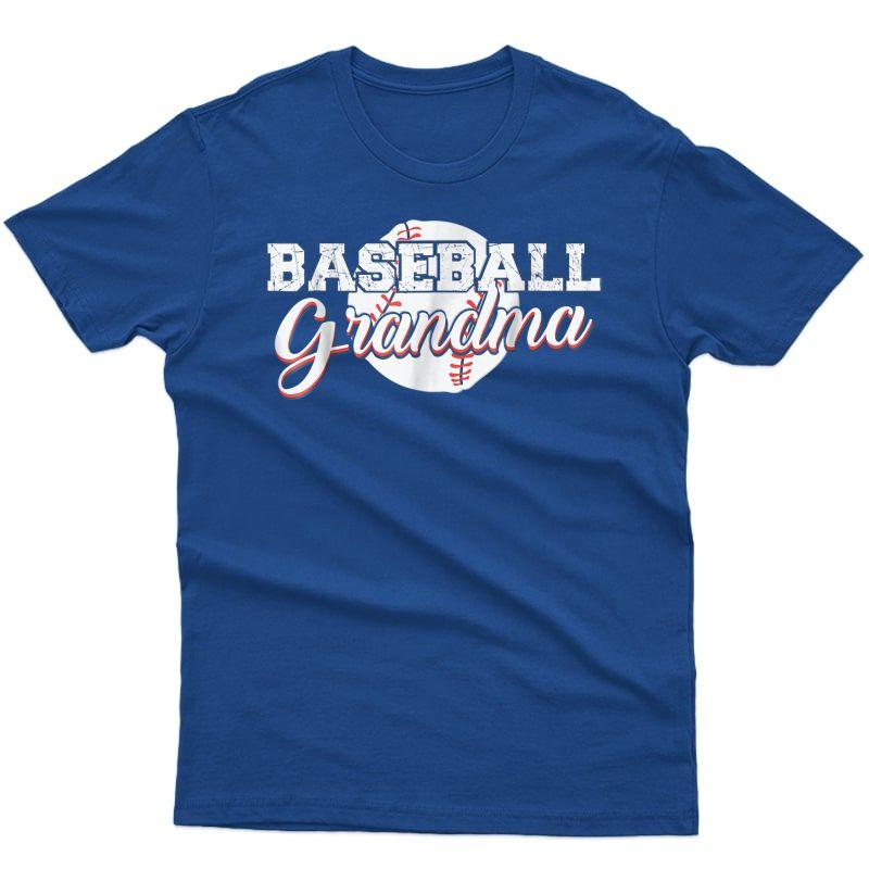 Baseball Grandma Shirt - Best Gift Idea For Grandma ()