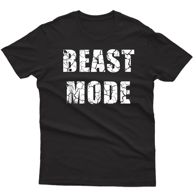 Beast Workout Gym Sport Mode Trendy Cool Looking Tank Top Shirts