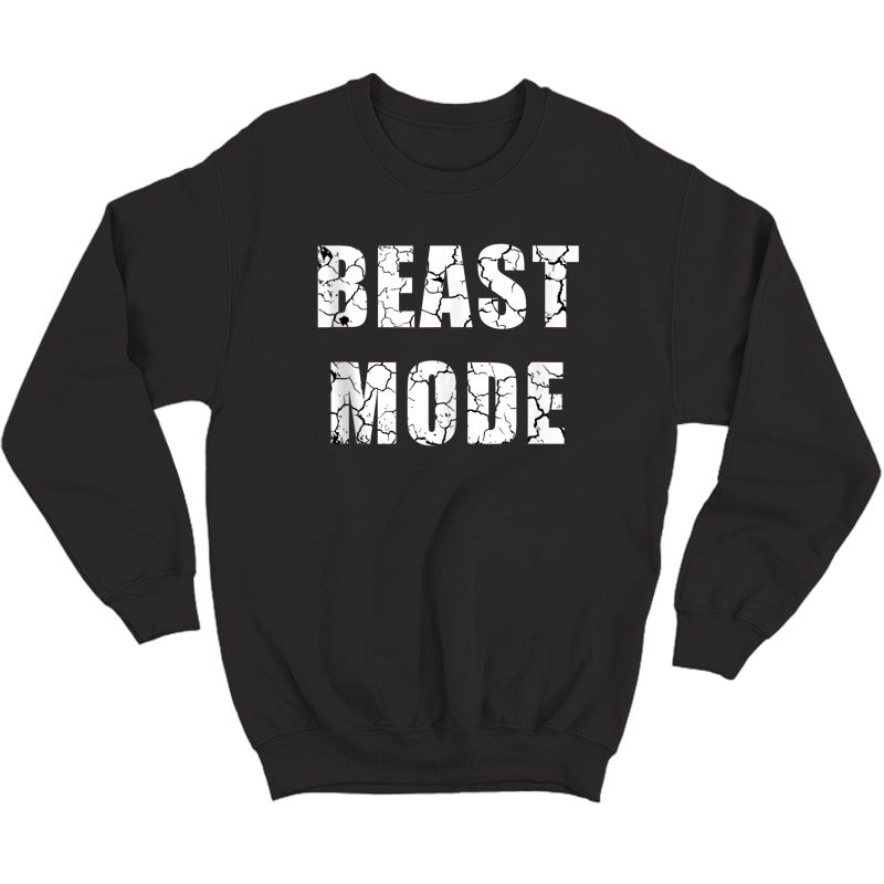 Beast Workout Gym Sport Mode Trendy Cool Looking Tank Top Shirts Crewneck Sweater