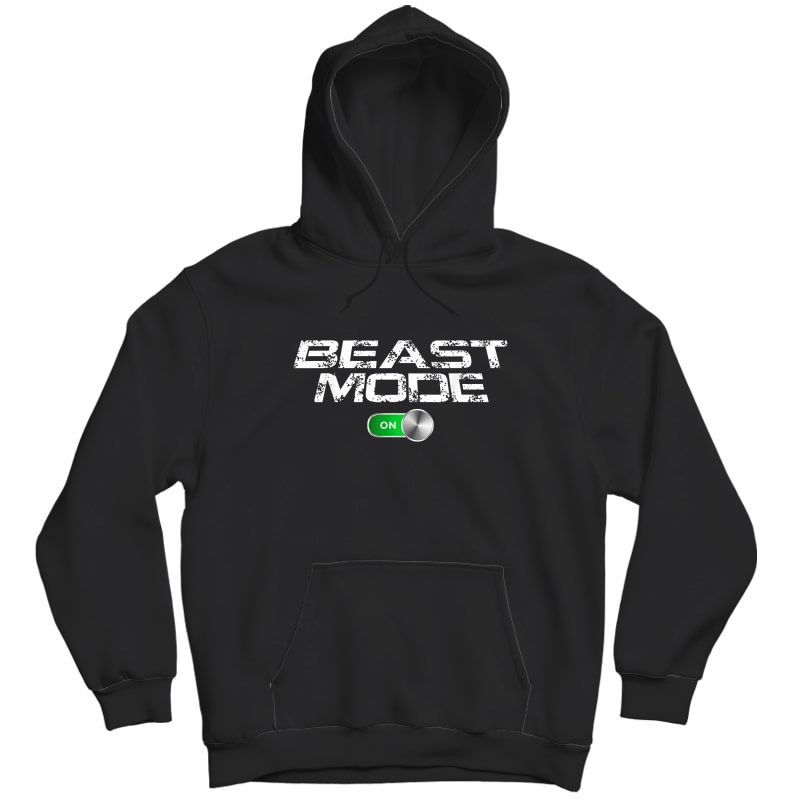 Beast Workout Mode Style Ripped Yoga Locker Healthy Nieces T-shirt Unisex Pullover Hoodie