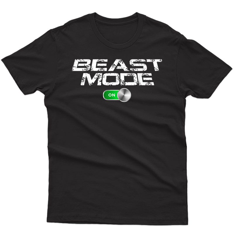 Beast Workout Mode Style Ripped Yoga Locker Healthy Nieces T-shirt