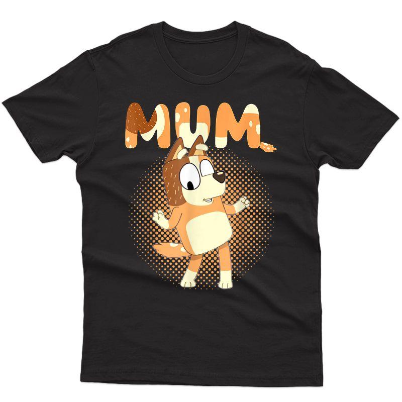 Bluey-dad-mom-funny T-shirt