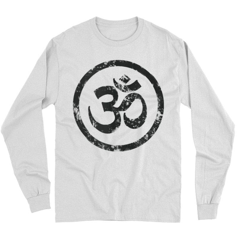 Buddhist Symbol Om Tshirt Cool Buddhism Yoga Tao Zen Tee Tank Top Long Sleeve T-shirt