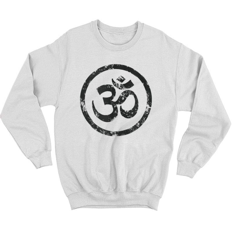 Buddhist Symbol Om Tshirt Cool Buddhism Yoga Tao Zen Tee Tank Top Crewneck Sweater