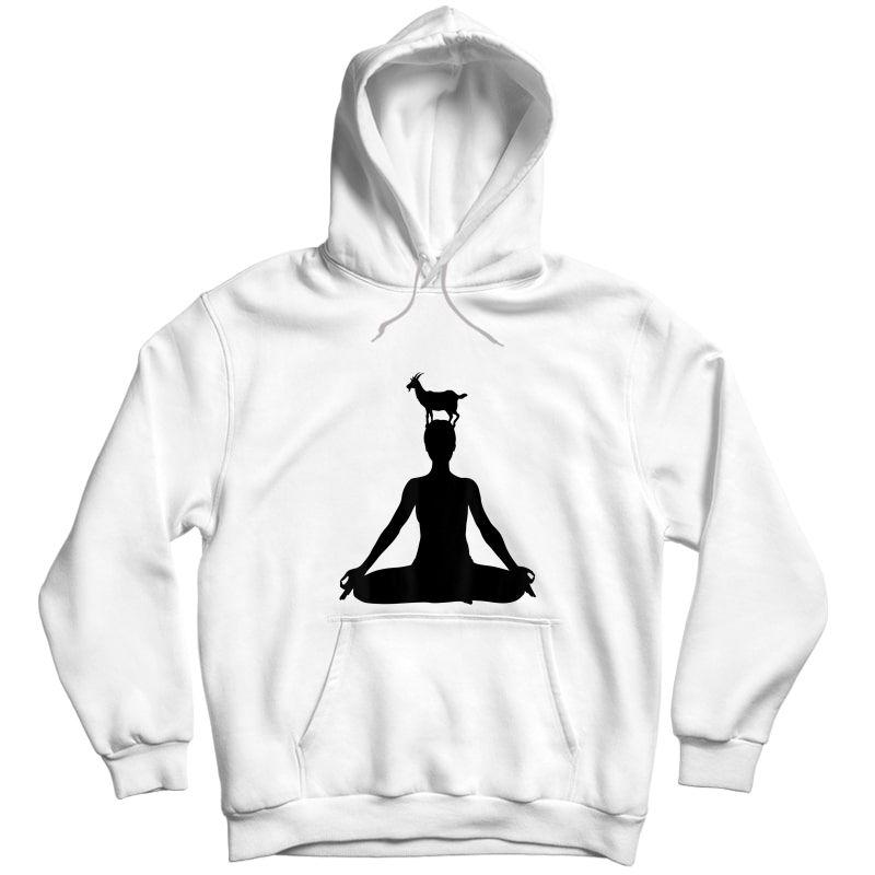 Chakra Yoga Funny Goat Yoga - Goat Yoga T-shirt Unisex Pullover Hoodie