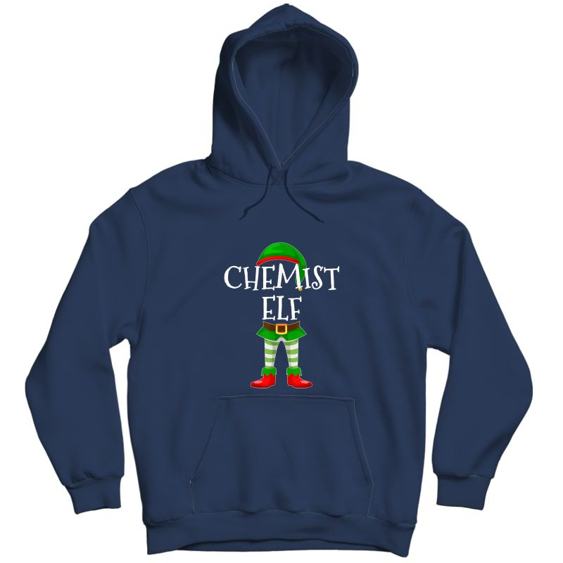 Chemist Elf Matching Family Christmas Gift Design T-shirt Unisex Pullover Hoodie