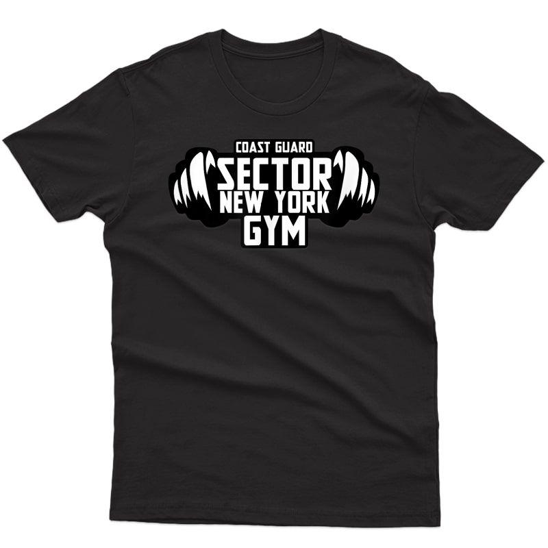 Coast Guard Sector Gym Staff T-shirt