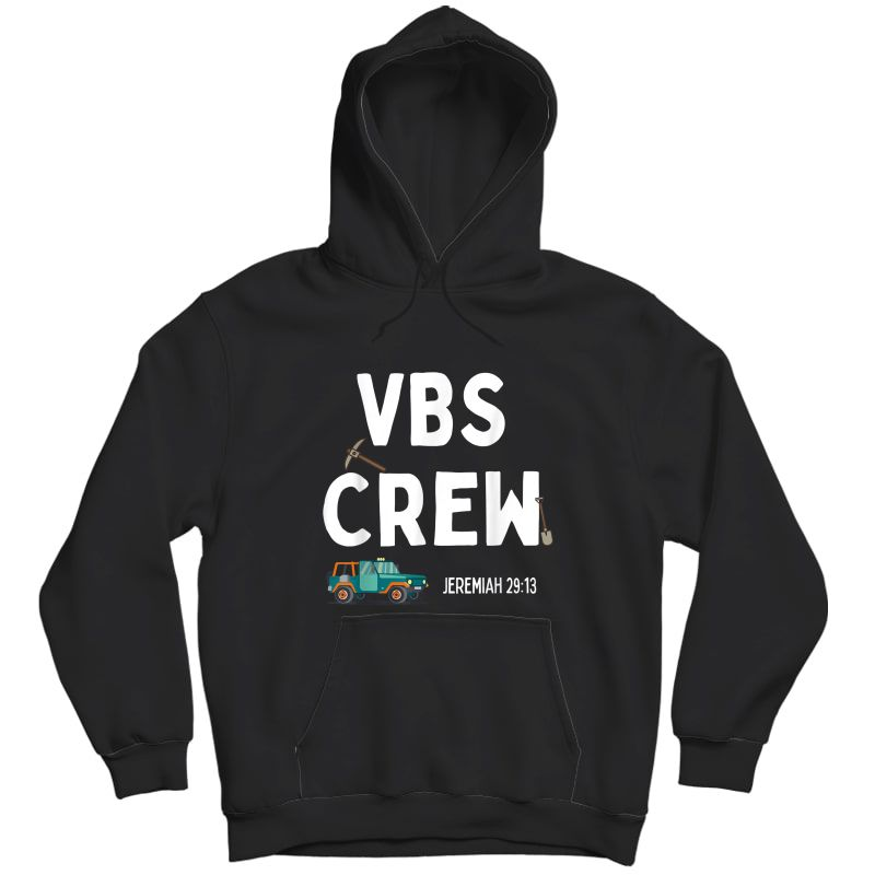 Cute Vbs Digging Crew 2021 Vacation Bible School Archaeology T-shirt Unisex Pullover Hoodie