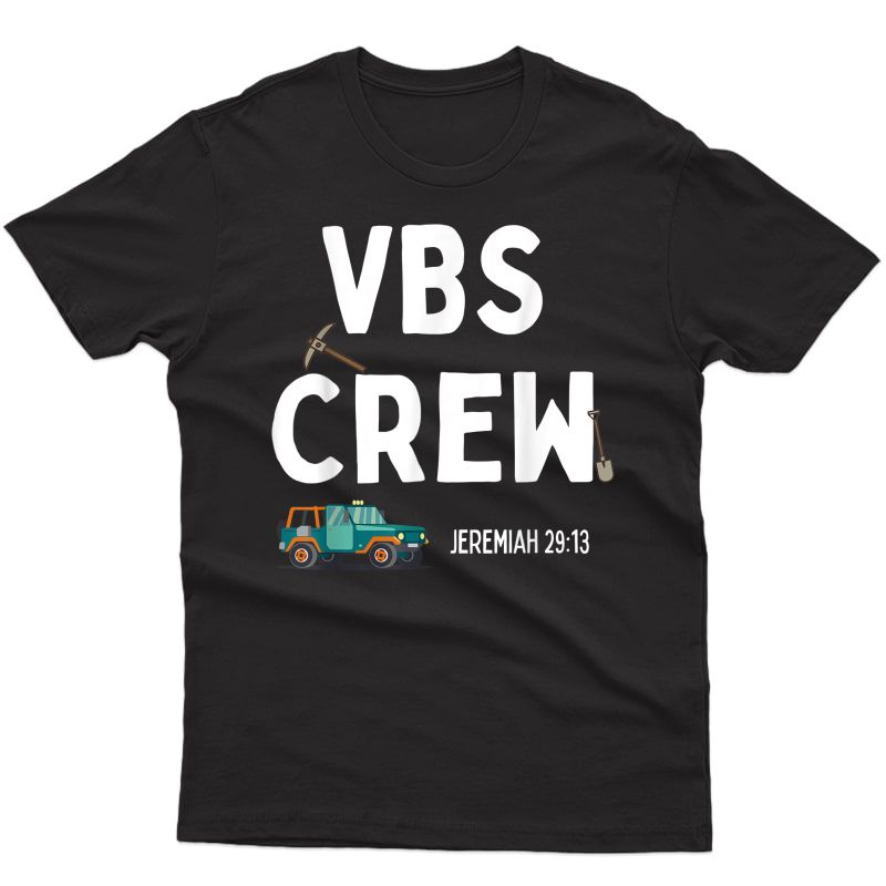Cute Vbs Digging Crew 2021 Vacation Bible School Archaeology T-shirt