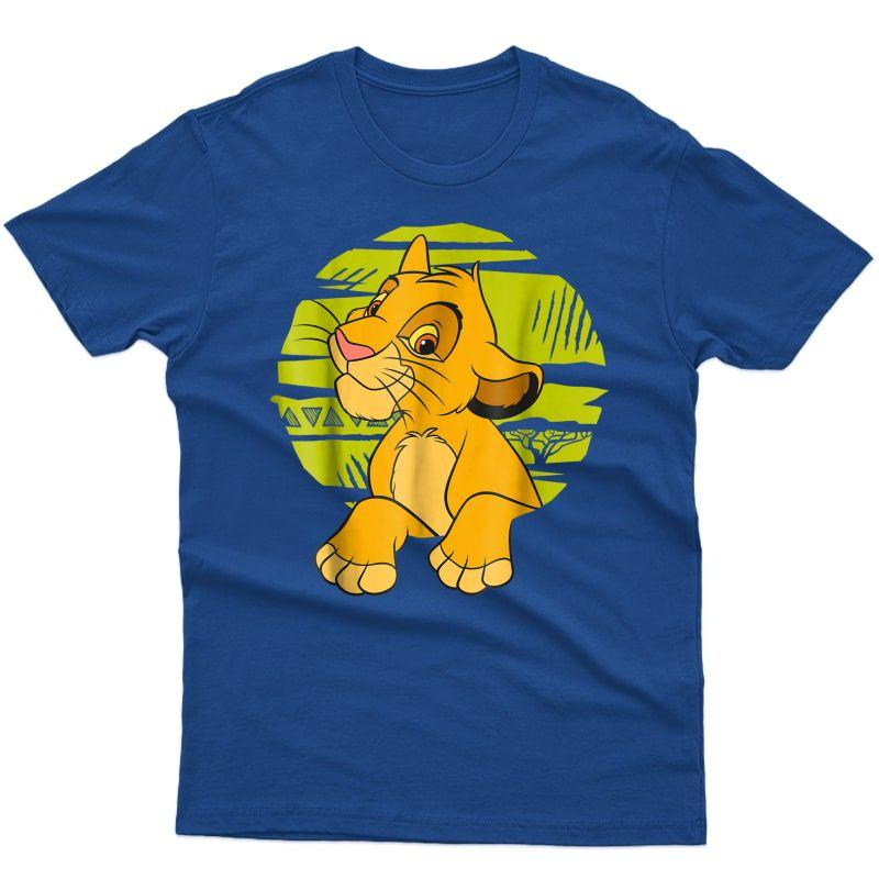 Disney The Lion King Simba Paws Green 90s T-shirt