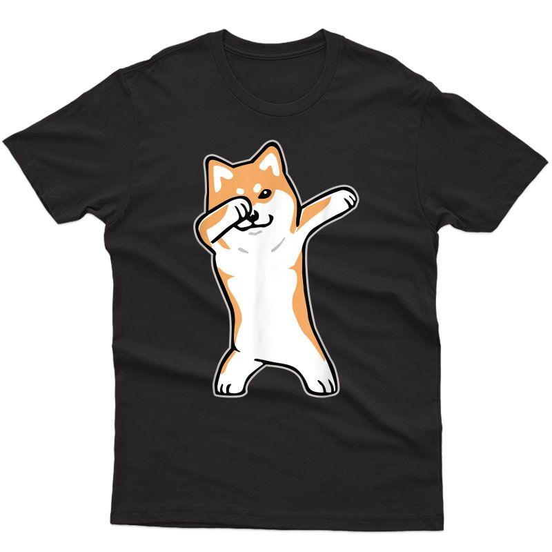 Dog Meme T-shirt - Dabbing Shiba Inu Doge Shirt