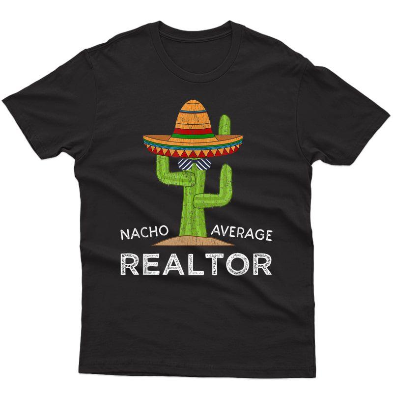 Fun Real Estate Agent Humor Gifts   Funny Realtor Meme T-shirt