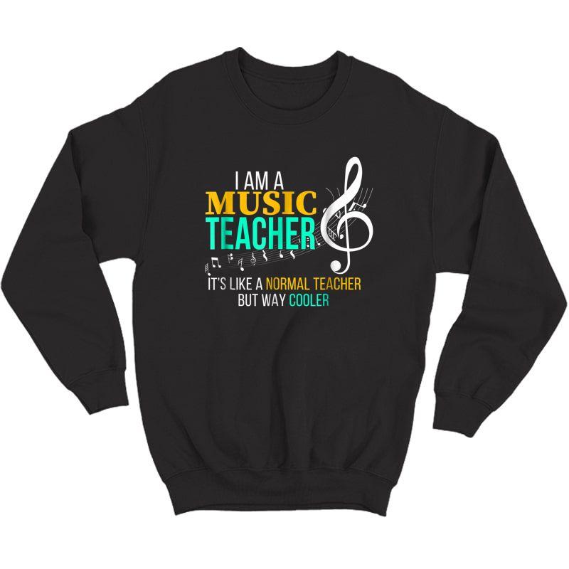 Funny Music Tea T Shirt Music Tea Cool Tea Gifts Crewneck Sweater
