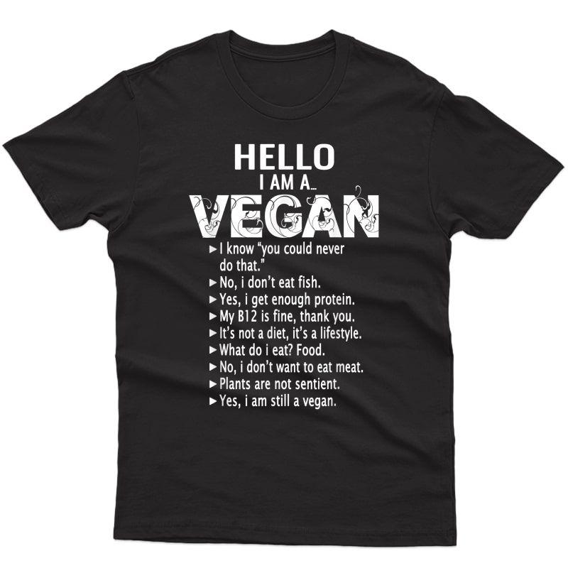 Funny Pro Vegan Activism Tshirt Gym Athlete Gift Christmas