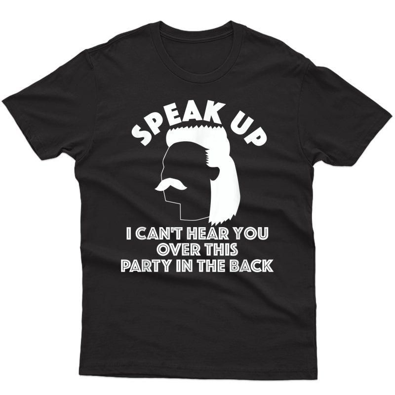 Funny Redneck T Shirt, Redneck Gift, Funny Redneck Mullet T-shirt
