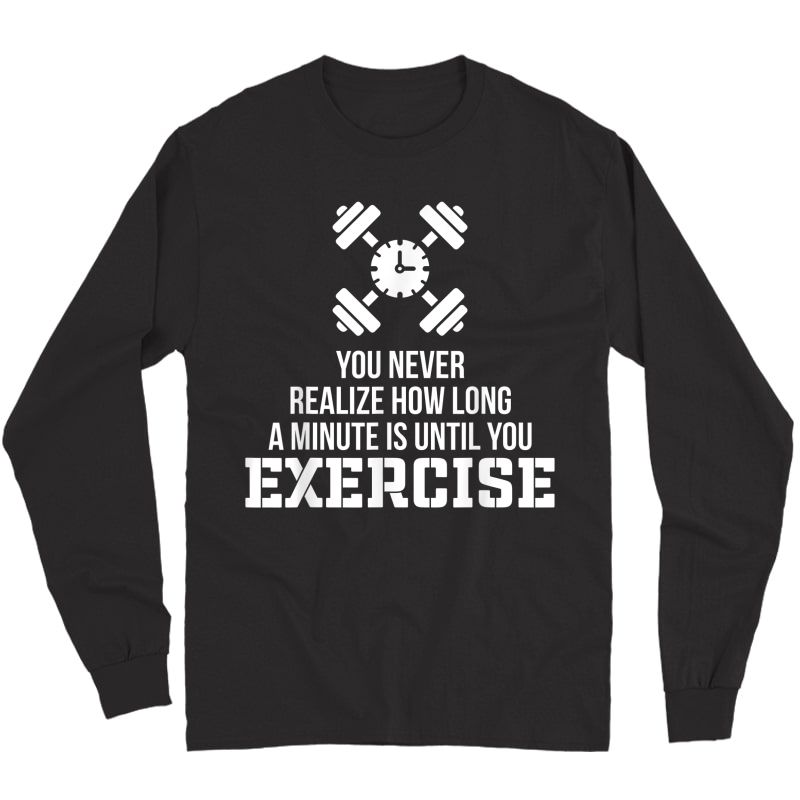 Funny Workout Quotes Nobody Cares Work Harder Gym Gifts T-shirt Long Sleeve T-shirt