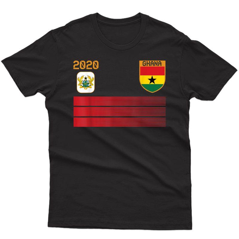 Ghana Football 2020 Ghana Soccer T-shirt