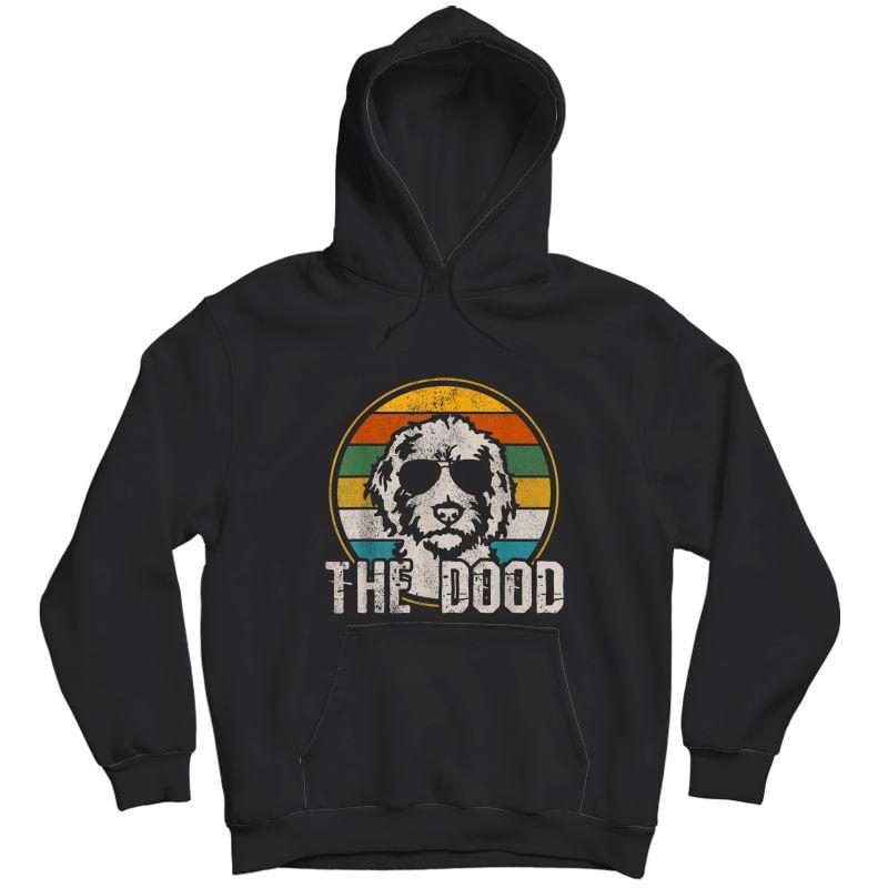 Goldendoodle T-shirt - The Dood Vintage Retro Dog Shirt Unisex Pullover Hoodie