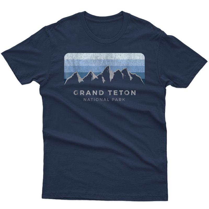 Grand Teton National Park Tshirt: Winter Edition