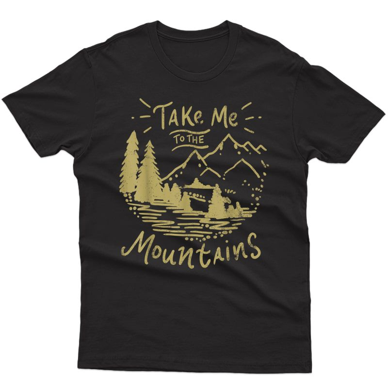 Hiking Mountain Hiker Adventure Outdoor T-shirt