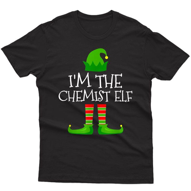 I'm The Chemist Elf Family Matching Christmas Pajama Gifts T-shirt