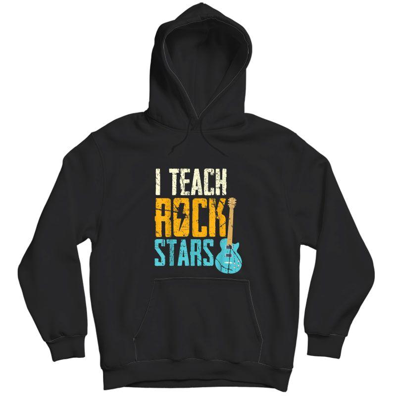 I Teach Rockstars / Band / Orchestra Tea T-shirt Unisex Pullover Hoodie