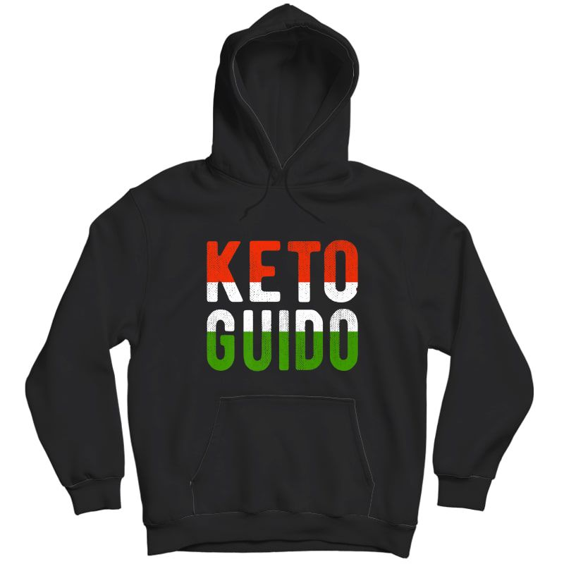 Keto Guido Italian Ness Weight Lifter Low Carb Diet Meme Premium T-shirt Unisex Pullover Hoodie