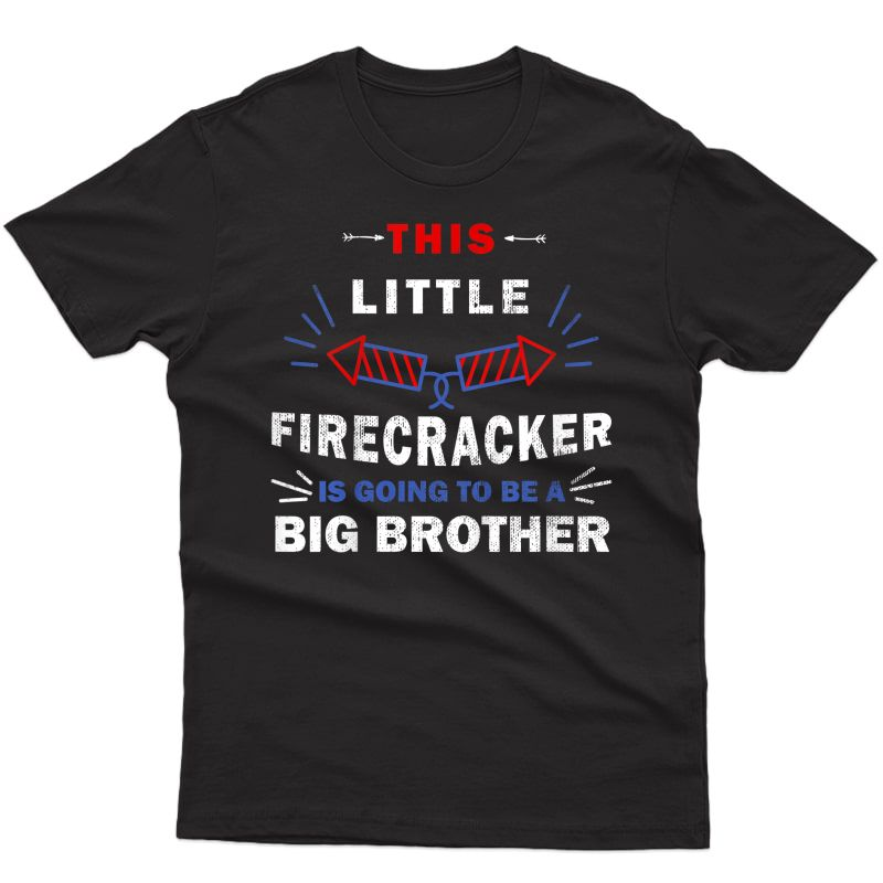 Big Brother 4th Of July Pregnancy Announcet T-shirt