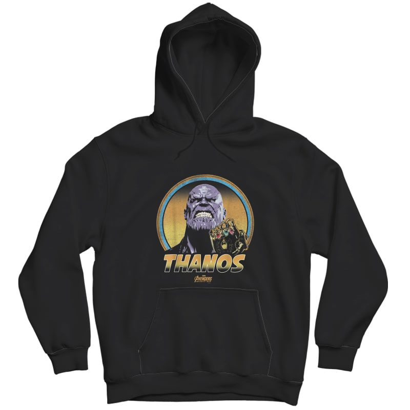 Marvel Infinity War Thanos Vintage Portrait Graphic T-shirt Unisex Pullover Hoodie