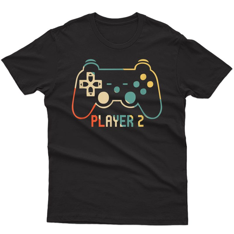 Matching Gamer Tee For Dad, Mom & Player 1,2,3 T-shirt