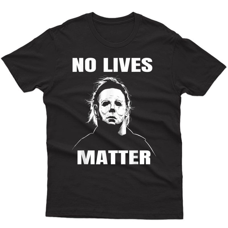 Michael-myers-funny Halloween Horror Funny T-shirt T-shirt