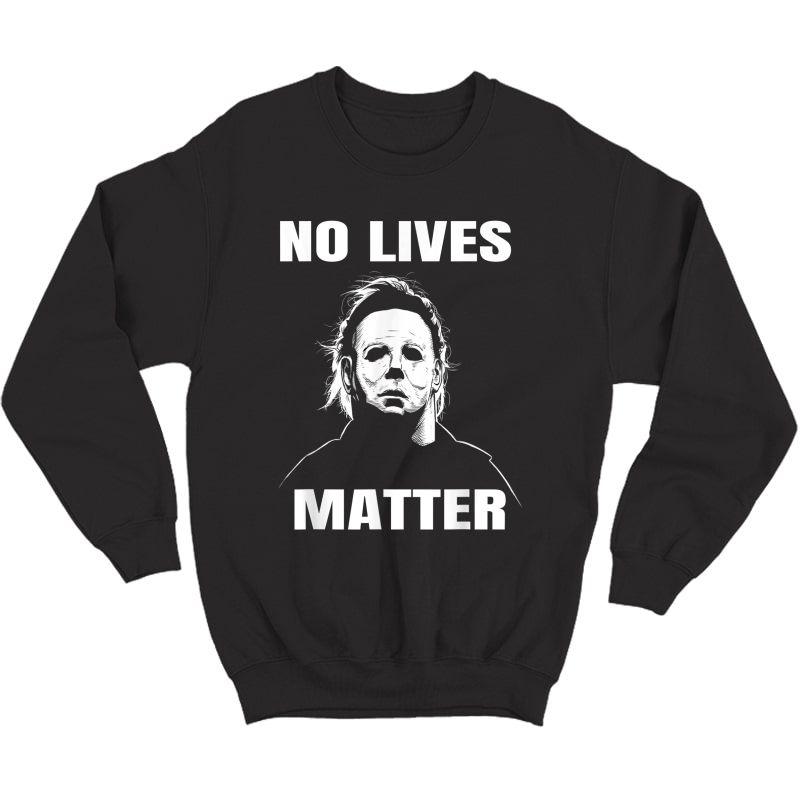 Michael-myers-funny Halloween Horror Funny T-shirt T-shirt Crewneck Sweater