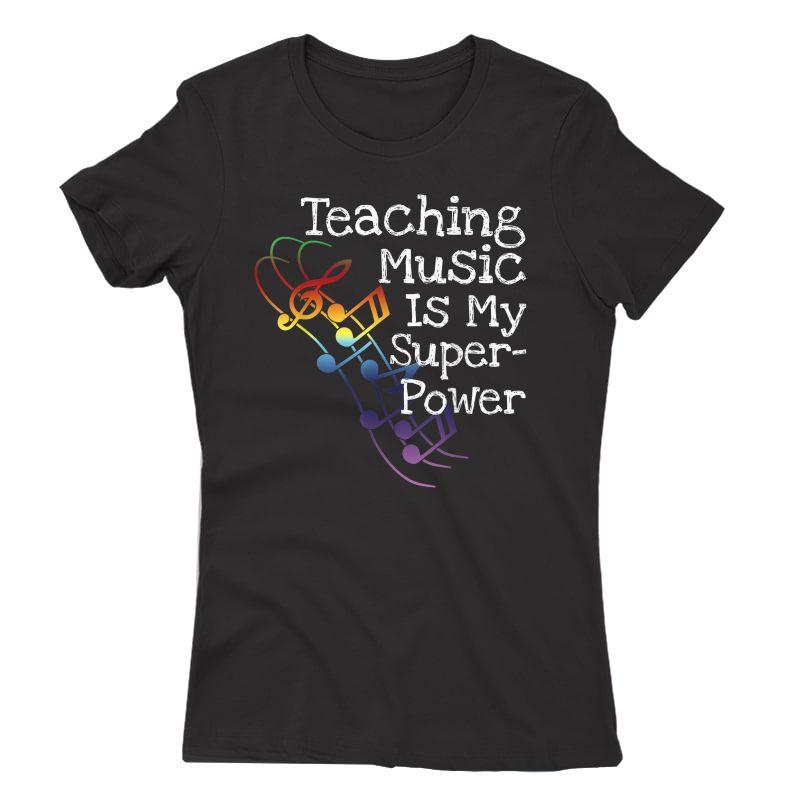 Music Tea T Shirt Gift