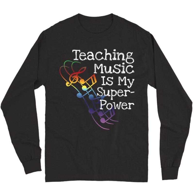 Music Tea T Shirt Gift Long Sleeve T-shirt