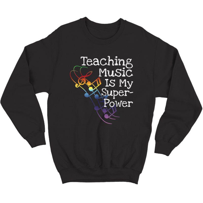 Music Tea T Shirt Gift Crewneck Sweater