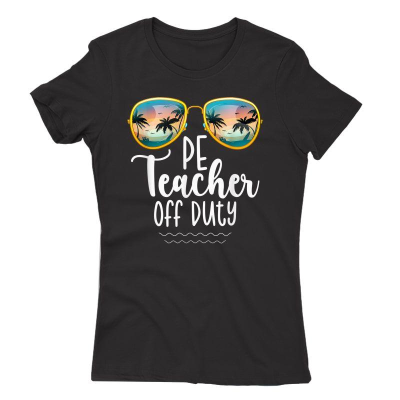 Off Duty Gym Pe Tea Beach Summer Trip Shirt T-shirt