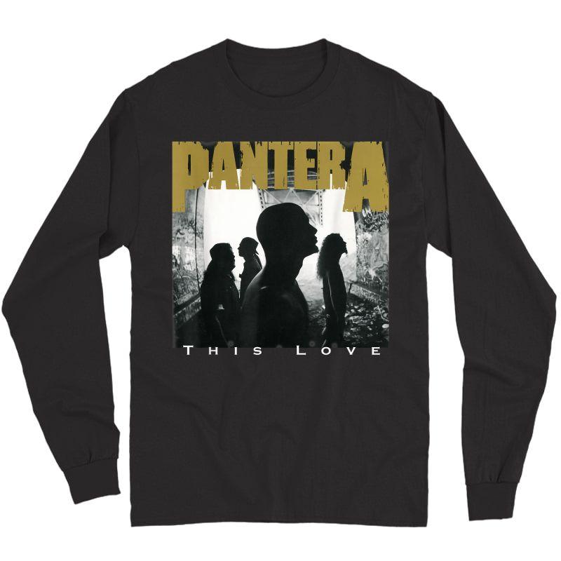 Pantera This Love T-shirt Long Sleeve T-shirt