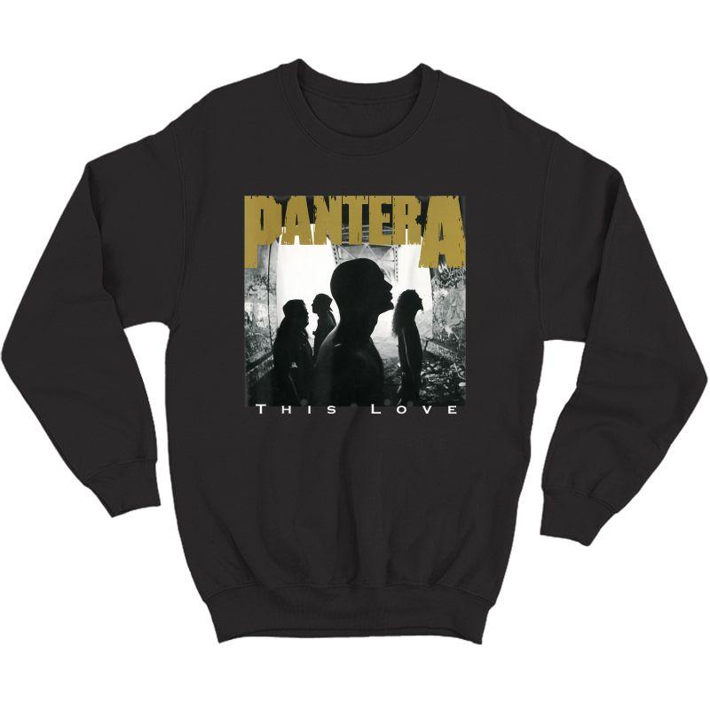 Pantera This Love T-shirt Crewneck Sweater