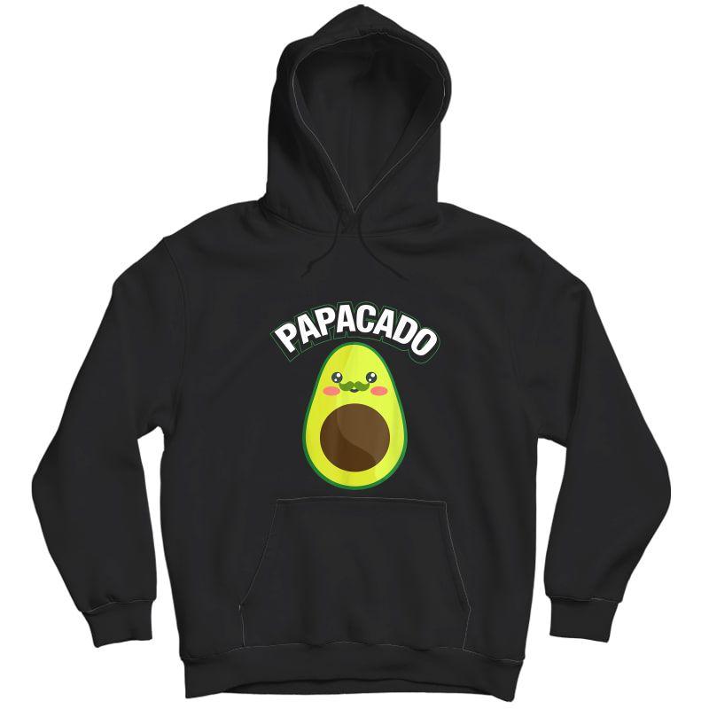 Papacado Pregnancy Papa T-shirt Unisex Pullover Hoodie