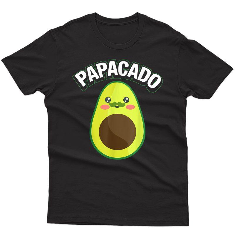 Papacado Pregnancy Papa T-shirt