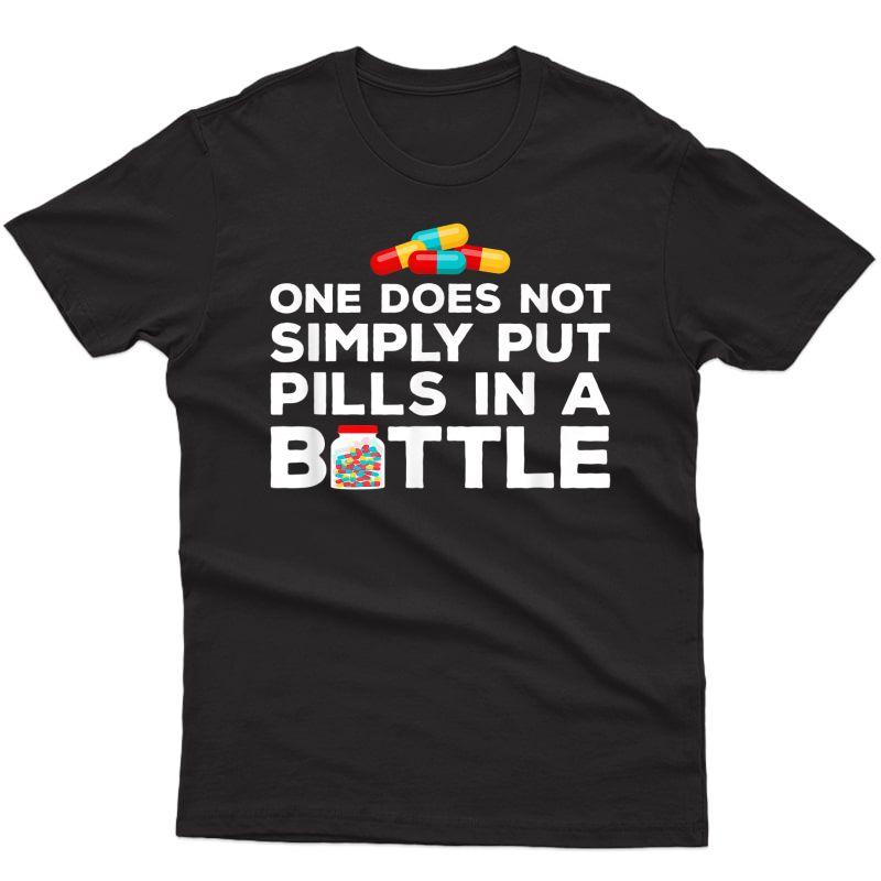 Pharmacy Technician Shirt Funny Pharmacist Gifts