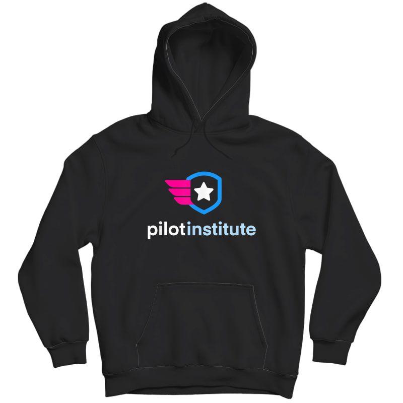 Pilot Institute Logo T-shirt Unisex Pullover Hoodie