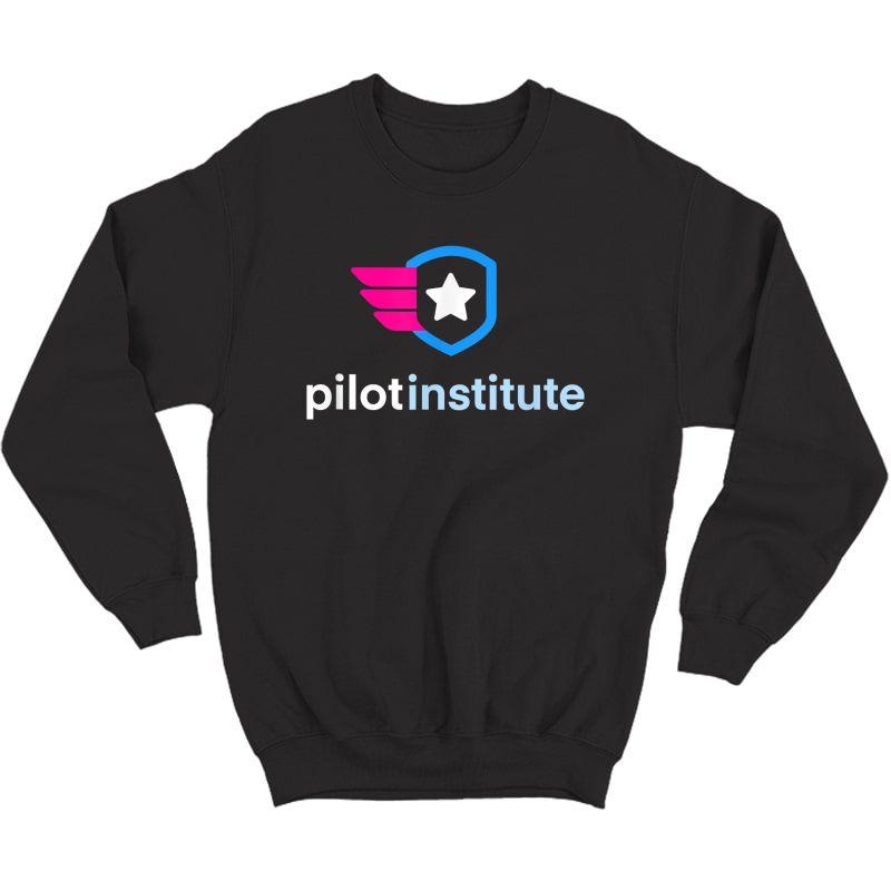 Pilot Institute Logo T-shirt Crewneck Sweater
