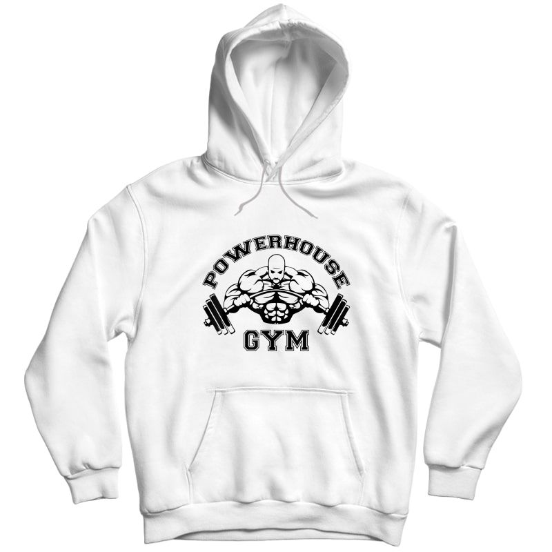 Powerhouse Gym Edition 4 Shirts Unisex Pullover Hoodie