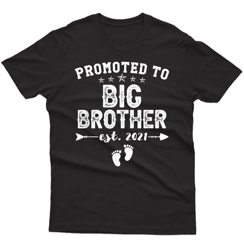 Promoted To Big Brother 2021 Soon To Be Bigbrother Gift Baby T-shirt