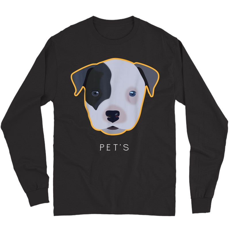 Puppy-dog By Gitadesign#1 T-shirt Long Sleeve T-shirt