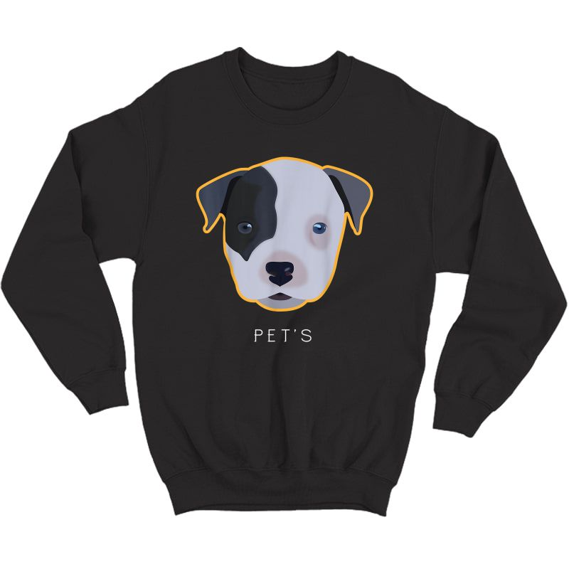 Puppy-dog By Gitadesign#1 T-shirt Crewneck Sweater