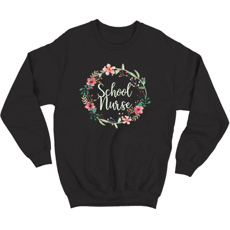 School Nurse, Medical Nursing Gift T Shirt For , 4d Crewneck Sweater